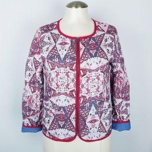Sanctuary Clothing boho reversible jacket sz. XS